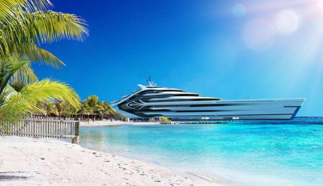 Acionna 175m Superyacht concept (4)