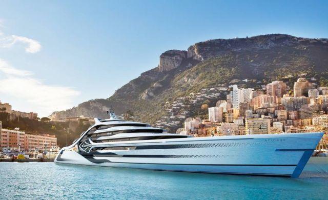 Acionna 175m Superyacht concept (2)