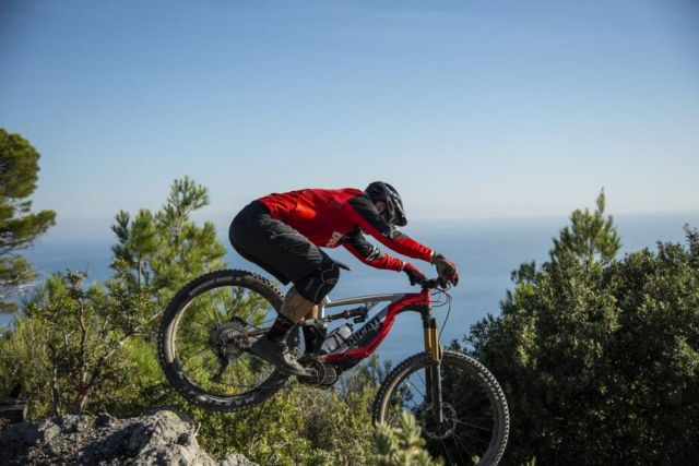 Ducati electric mountain bike