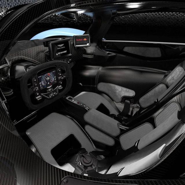 Aston Martin's Valkyrie interior