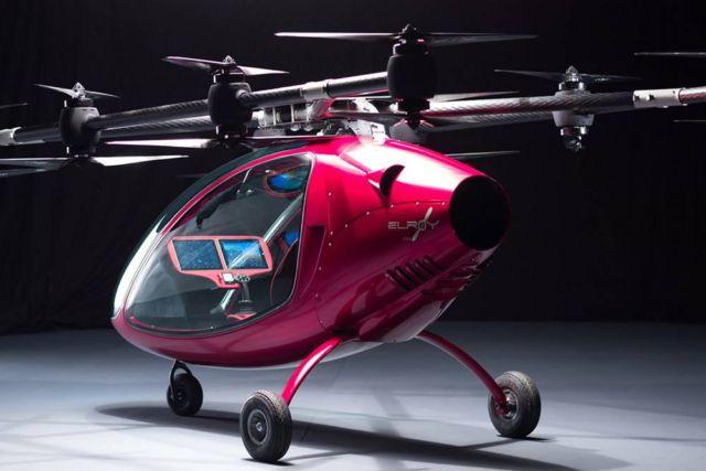 Astro Elroy sleek Passenger Drone
