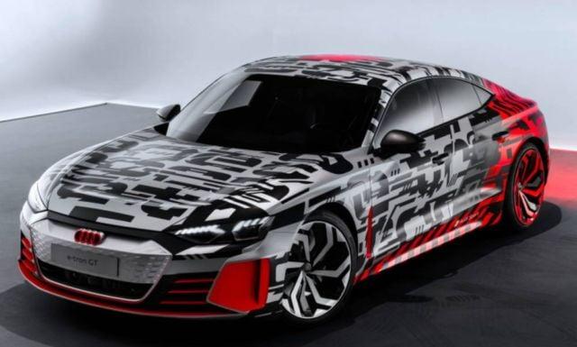 Audi e-tron GT concept unveiled