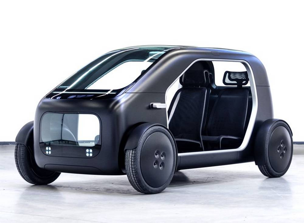 Biomega Sin simplified electric car
