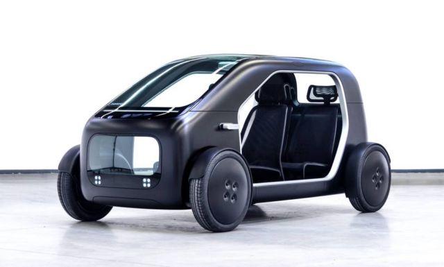 Biomega created lightweight city electric car