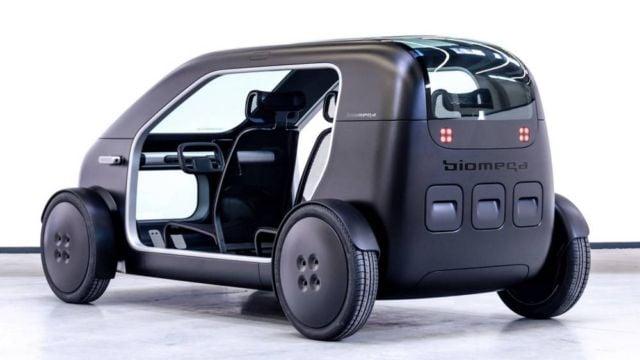 Biomega created lightweight city electric car (4)
