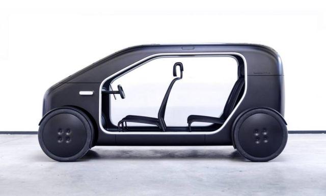 Biomega created lightweight city electric car (3)