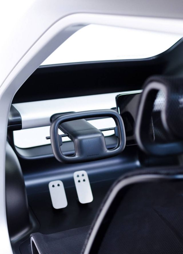 Biomega created lightweight city electric car (2)