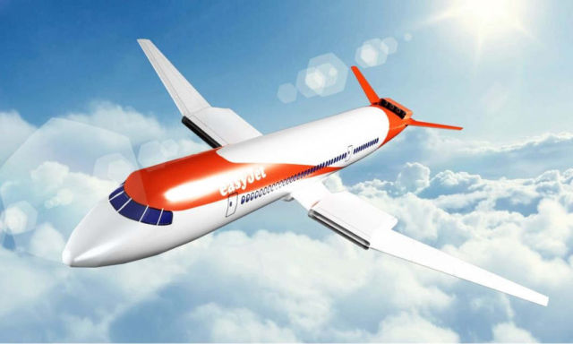 EasyJet will launch first Electric Aircraft