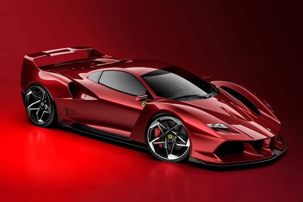 Ferrari F40 Tribute concept by Samir Sadikhov (15)