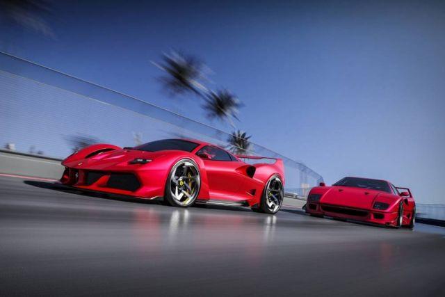 Ferrari F40 Tribute concept by Samir Sadikhov (4)
