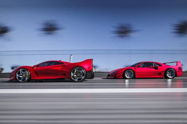 Ferrari F40 Tribute concept by Samir Sadikhov (2)