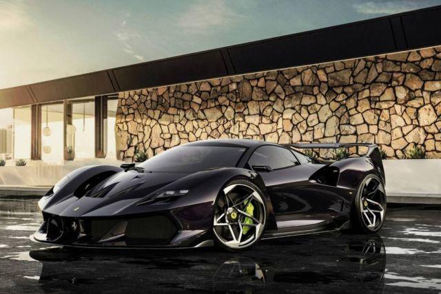 Ferrari F40 Tribute concept by Samir Sadikhov (14)