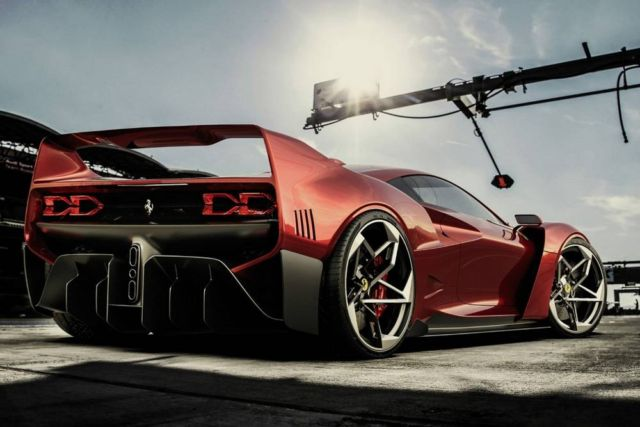 Ferrari F40 Tribute concept by Samir Sadikhov (12)