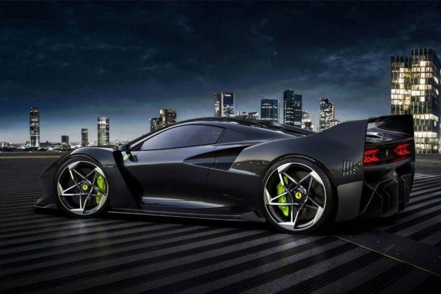 Ferrari F40 Tribute concept by Samir Sadikhov (9)
