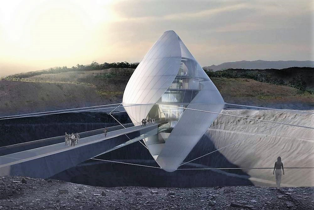 Floating Space Research Lab in Japan