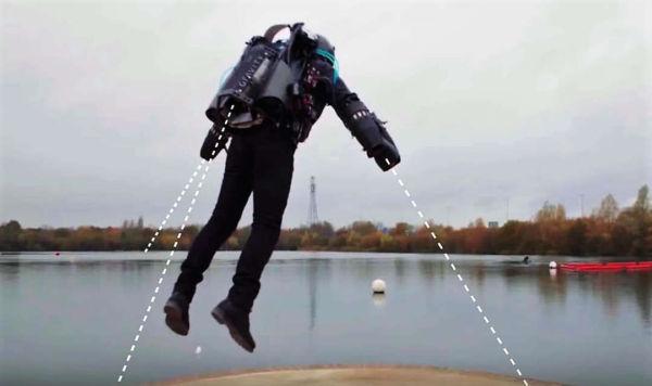 How Gravity Built the World's Fastest Jet Suit