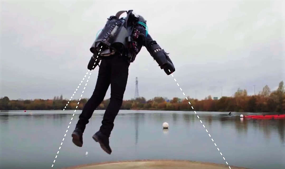 How Gravity Built the World's Fastest Jet Suit