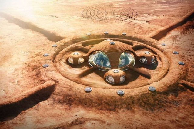 Humans on Mars will Live in Luxury