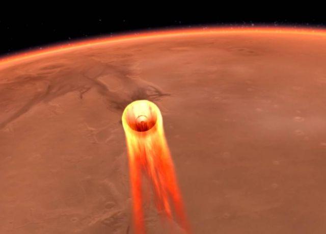 InSight Mars Landing Lander