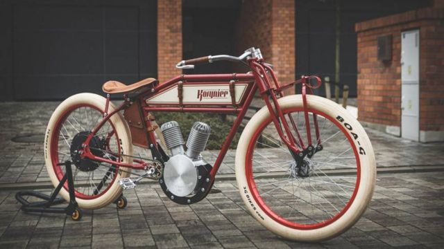 Kosynier 1920s motorcycle ebike