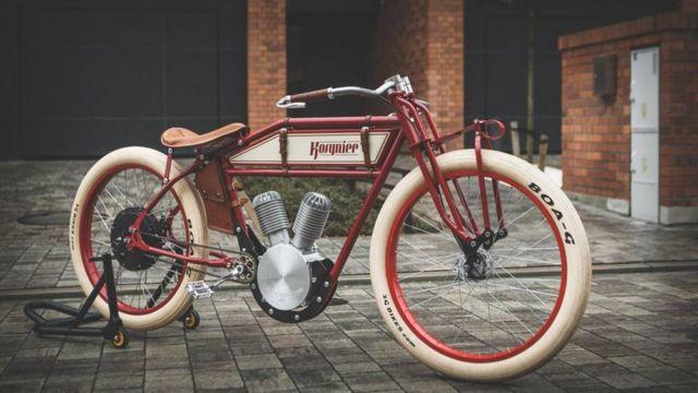 Kosynier 1920s motorcycle ebike