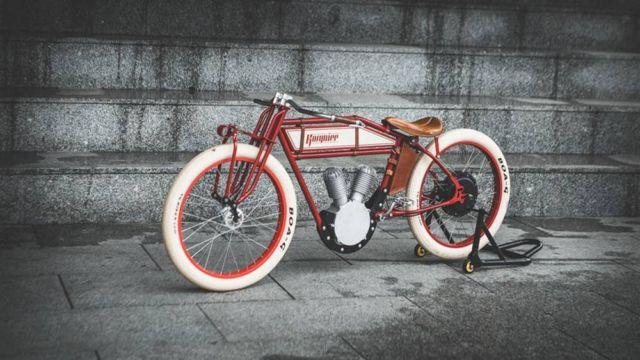 Kosynier 1920s motorcycle ebike (4)