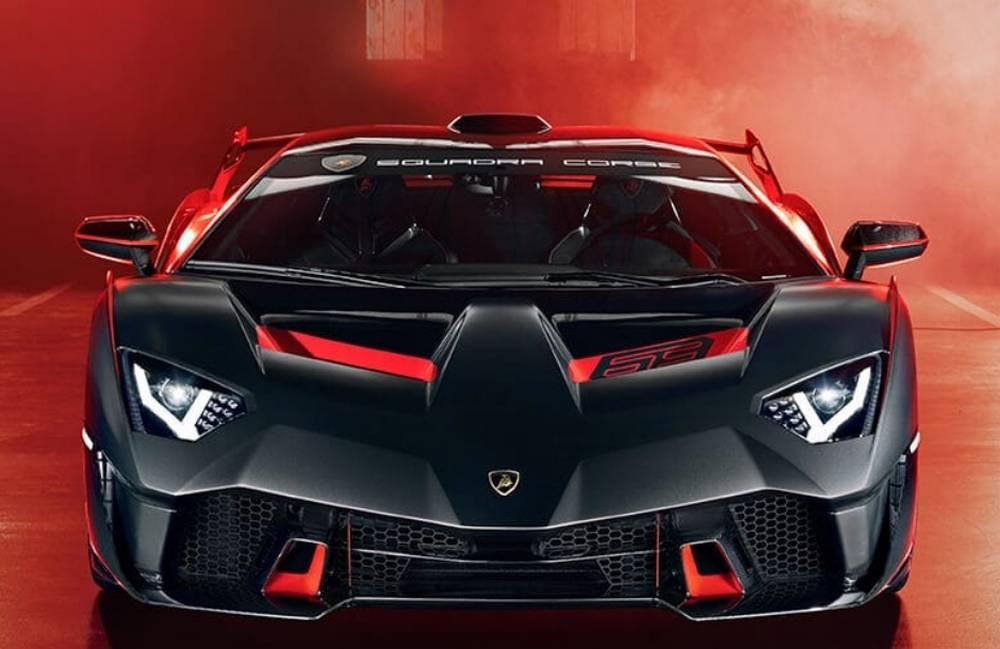 Lamborghini Squadra Corse SC18 Alston supercar (4)