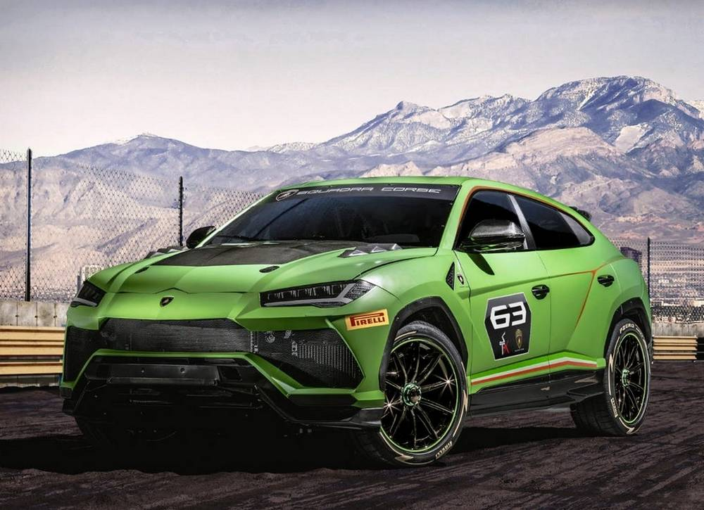 "Lamborghini Urus ST-X ""super SUV"" (6)"