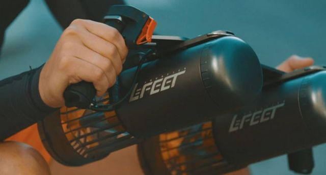 LeFeet S1 Compact Sea Scooter (2)
