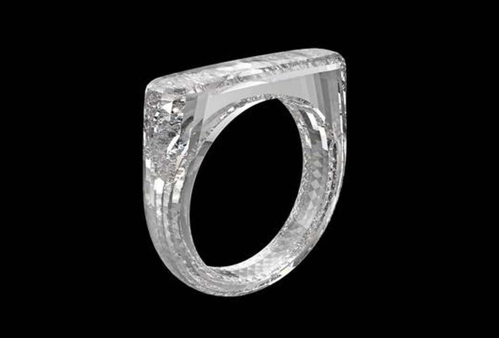 Marc Newson and Jony Ive unique Diamond Ring