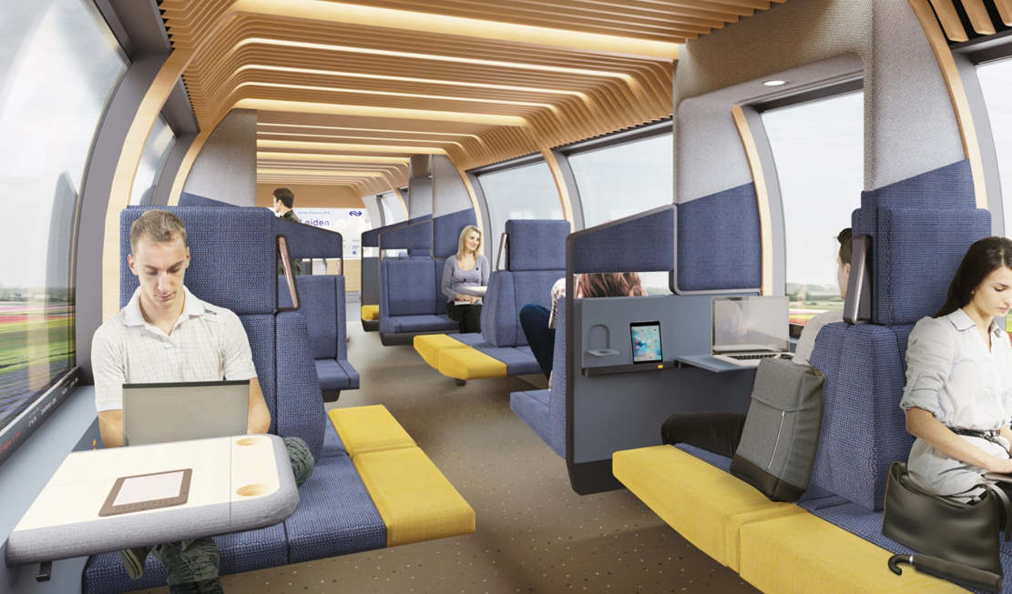 Modular interior of Dutch Trains of the Future (1)