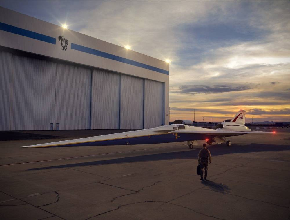 NASA starting Supersonic Tests for its X-59 QueSST Jet