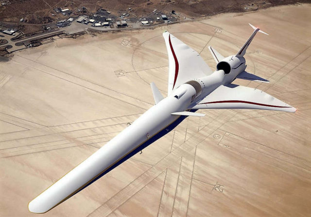 X-59 Quiet Supersonic Technology (QueSST) aircraft