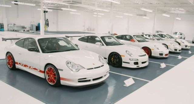 The Super-Secret White Porsche Collection