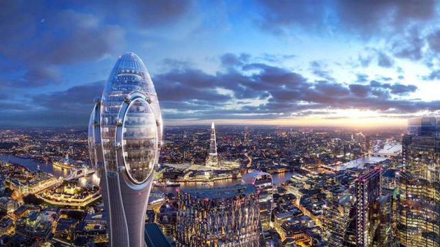 The Tulip- 305 meter tall Tower in London (3)