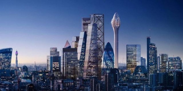 The Tulip- 305 meter tall Tower in London (2)