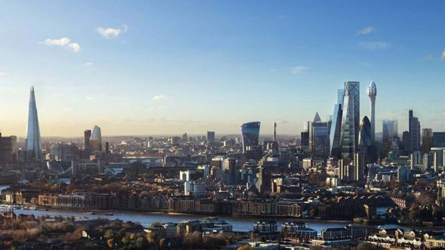 The Tulip- 305 meter tall Tower in London (1)