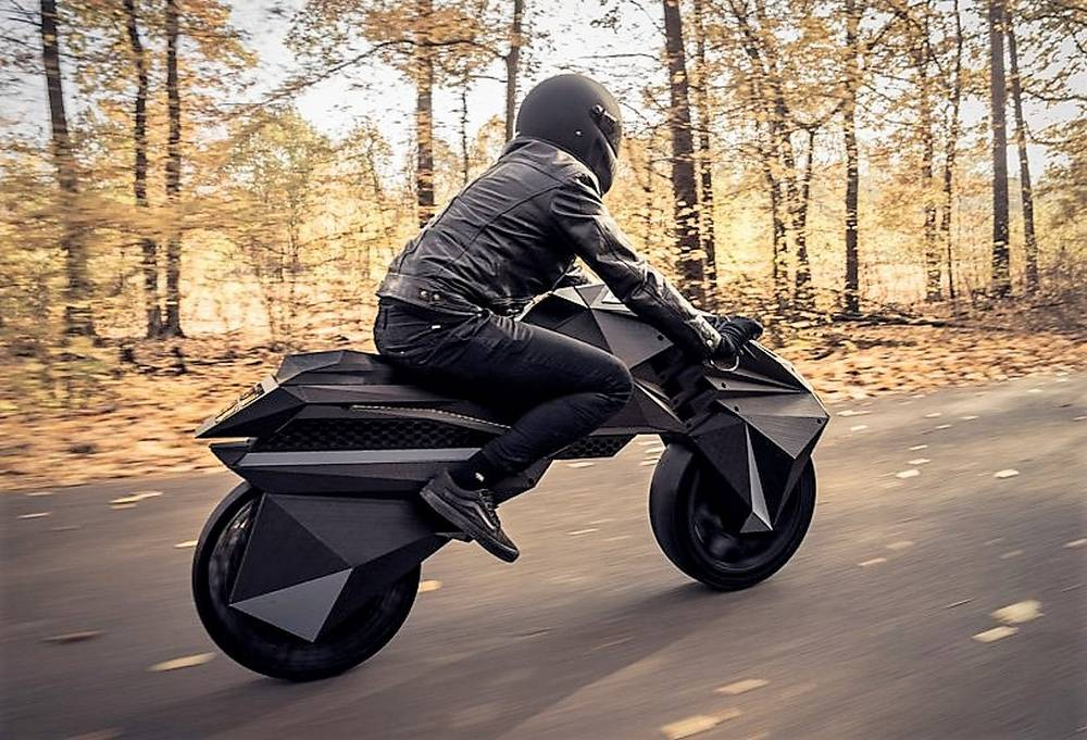 World's First 3D Printed Motorbike