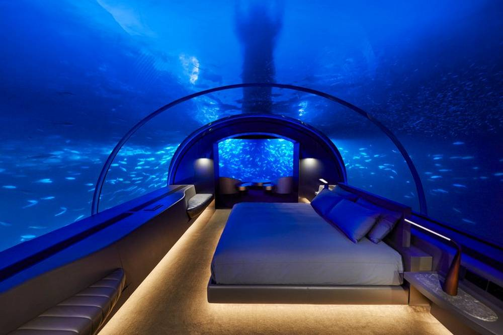 World's first Underwater Hotel Villa