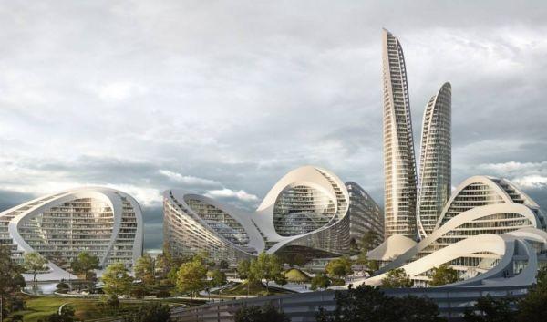 Zaha Hadid to build the Rublyovo-Arkhangelskoye Smart City (4)