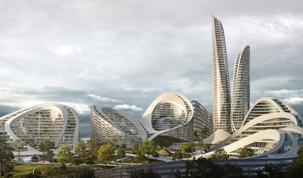 Zaha Hadid to build the Rublyovo-Arkhangelskoye Smart City