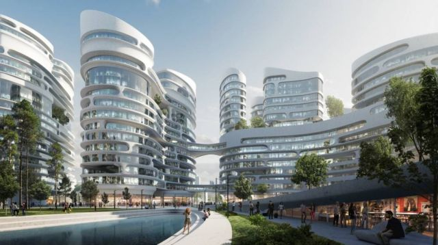 Zaha Hadid to build the Rublyovo-Arkhangelskoye Smart City (3)