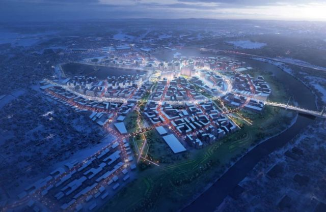 Zaha Hadid to build the Rublyovo-Arkhangelskoye Smart City (2)