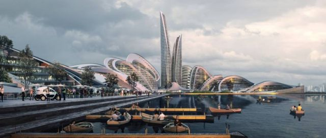 Zaha Hadid to build the Rublyovo-Arkhangelskoye Smart City (1)