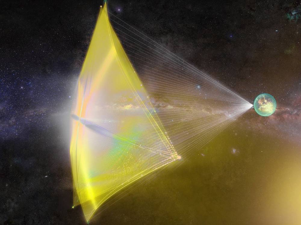 A Laser so Powerful it could send a spacecraft to Mars in Days