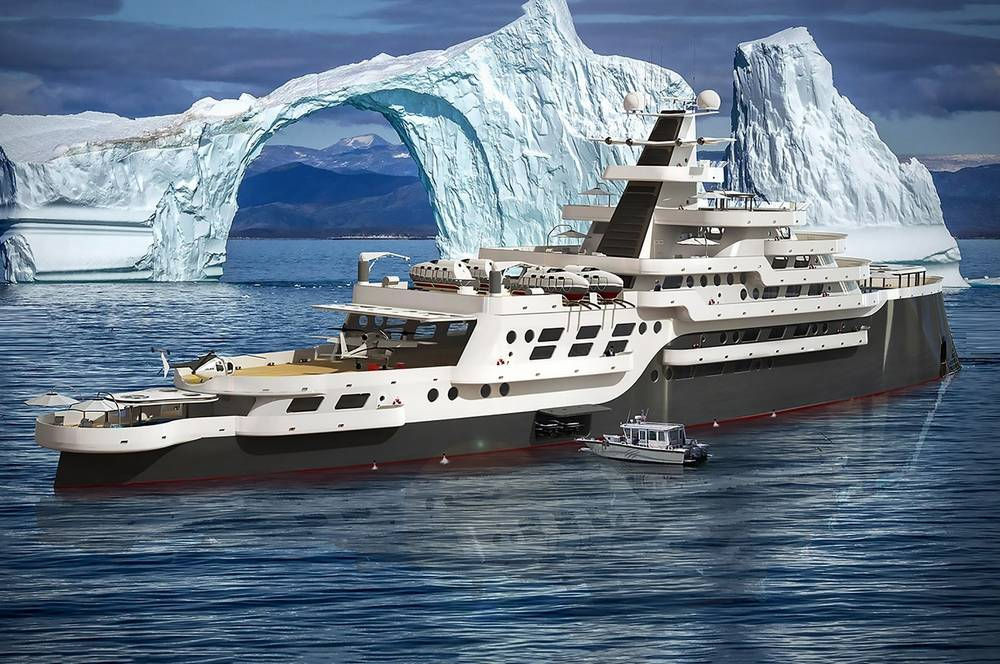 Alexis Expedition Yacht Concept