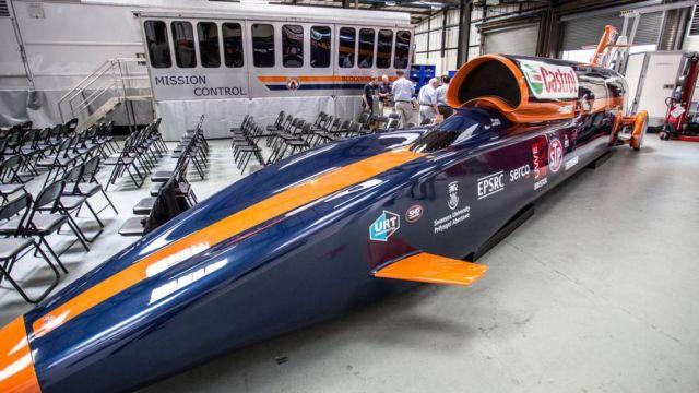 Bloodhound Supersonic car