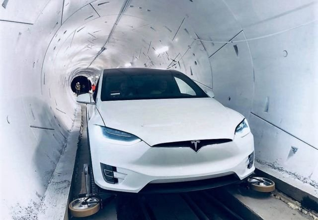 Boring Company's first Tunnel opens
