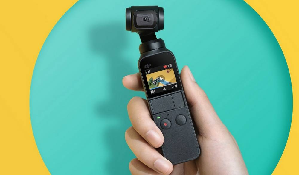 DJI Osmo Stabilized  Pocket camera
