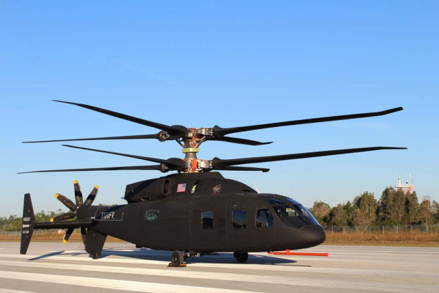 First Look of the Sikorsky - Boeing SB>1 Defiant Helicopter